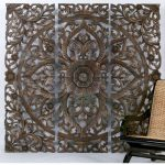 New Carved Wood Wall Art Panels