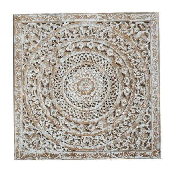 Amazing Carved Wood Wall Art White Best Of Moroccan Decent Wood Carving Wall Art  Hanging Siam Sawadee