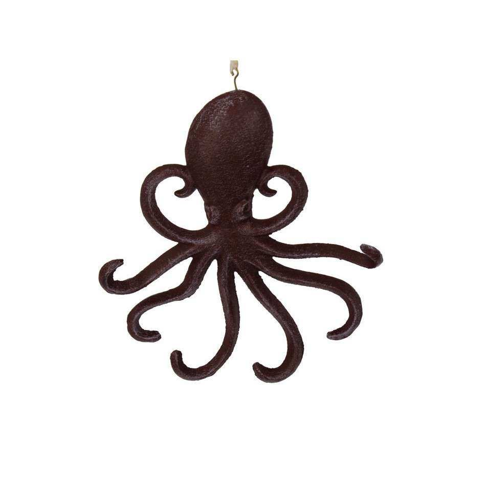 """Handcrafted Nautical Decor 7"""" Cast Iron Wall Mounted"""