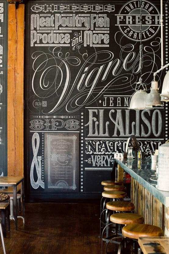 10 Creative Examples of Chalkboard Typography Creative