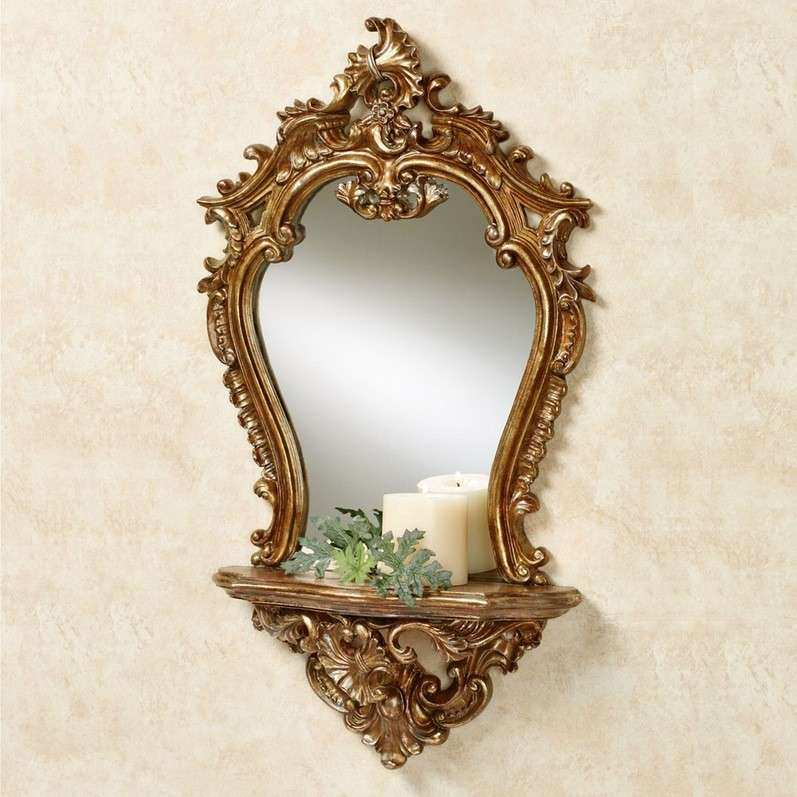 Baroque Wall Mirror Oval Ornate Frame 50x60 20x24 Inches
