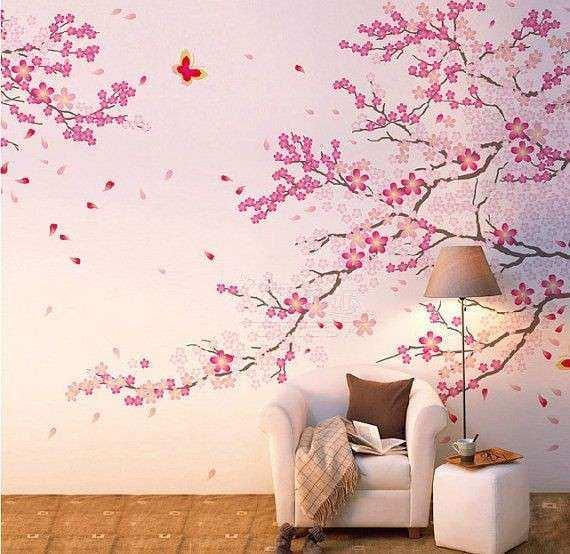 Superior Cherry Blossom Wall Art New 17 Best Ideas About Flower Wall Decals On  Pinterest