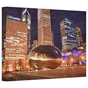 Amazon Art Wall Chicago The Bean I Gallery Wrapped
