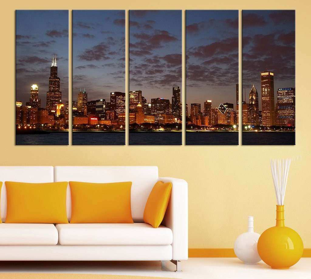 Fantastic Chicago Wall Decor Sketch - Wall Art Collections ...
