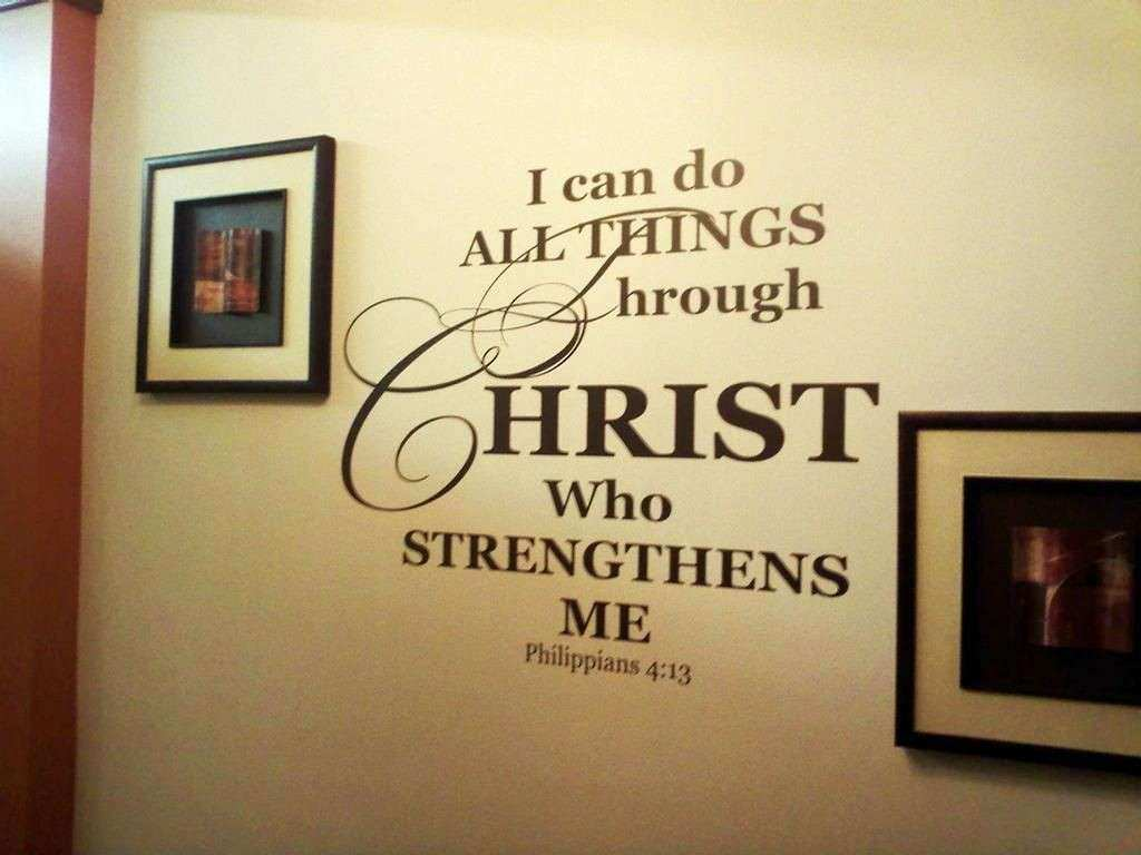 Funky Scripture Wall Decor Photos - Art & Wall Decor - hecatalog.info