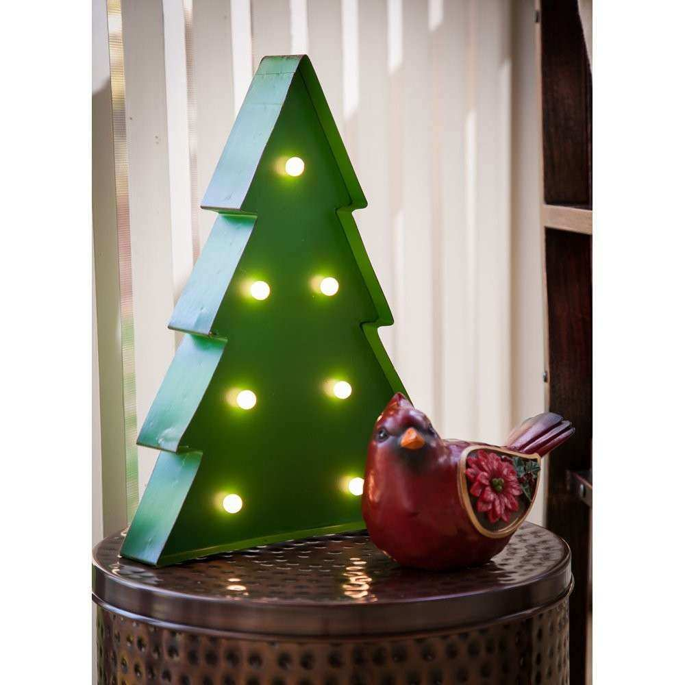 christmas outdoor wall decorations best of brayden studio battery operated light up christmas tree - Battery Operated Christmas Decorations