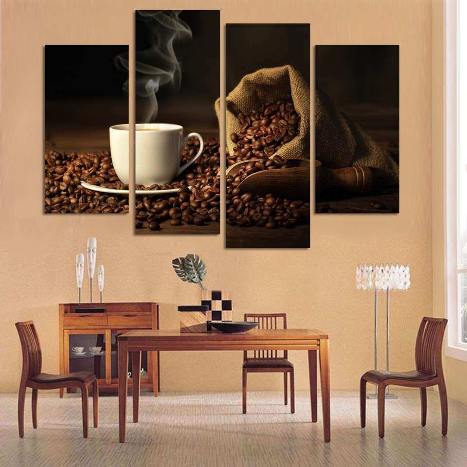 Awesome Coffee Wall Decor Kitchen Wall Art Ideas