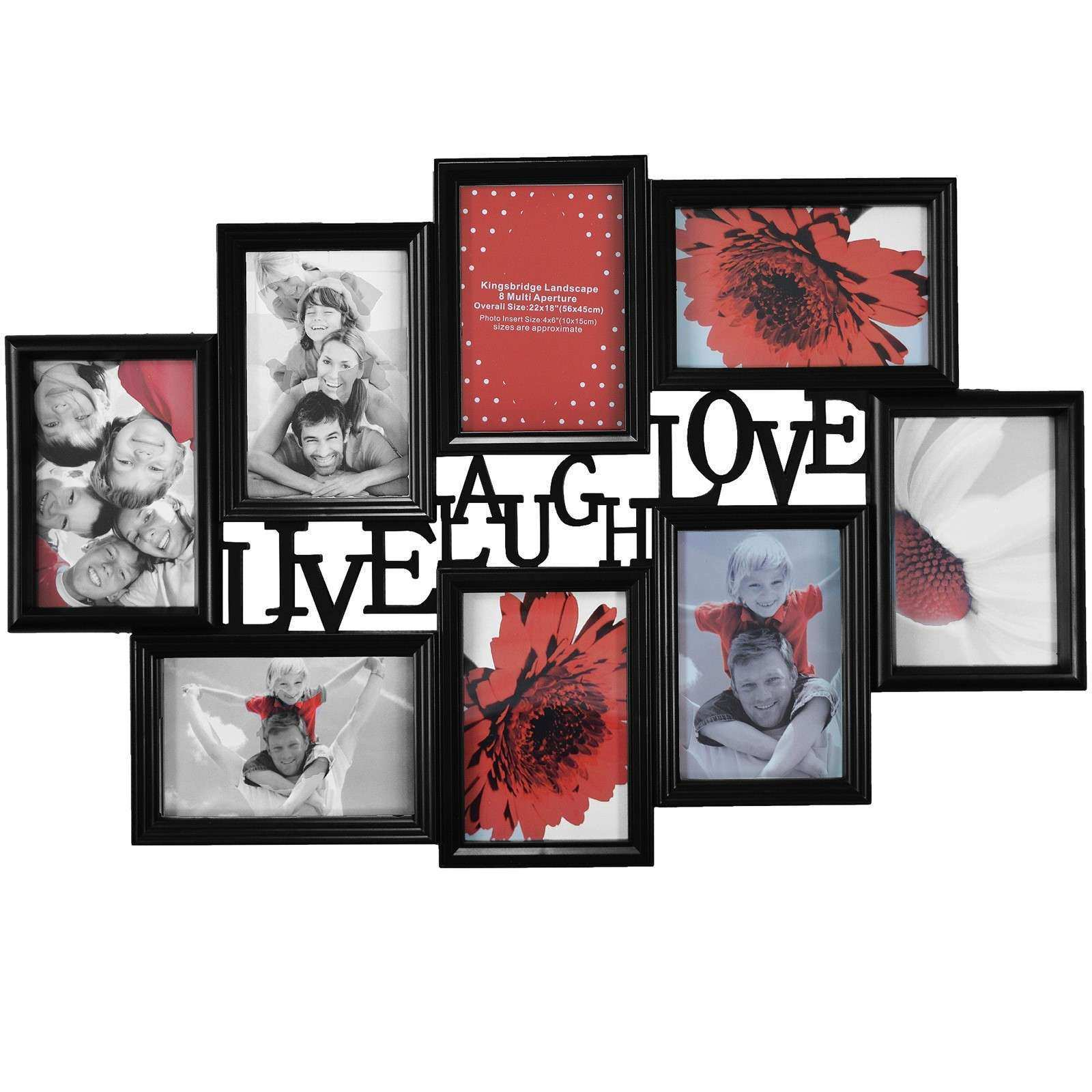 Collage Picture Frames for Wall Unique Multi Photoframe Family Love ...