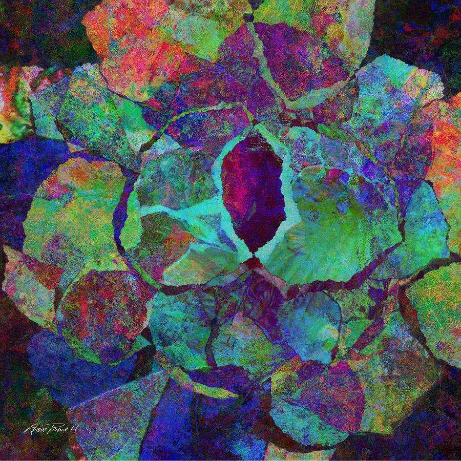 Abstract Art Colorful Collage Digital Art by Ann Powell