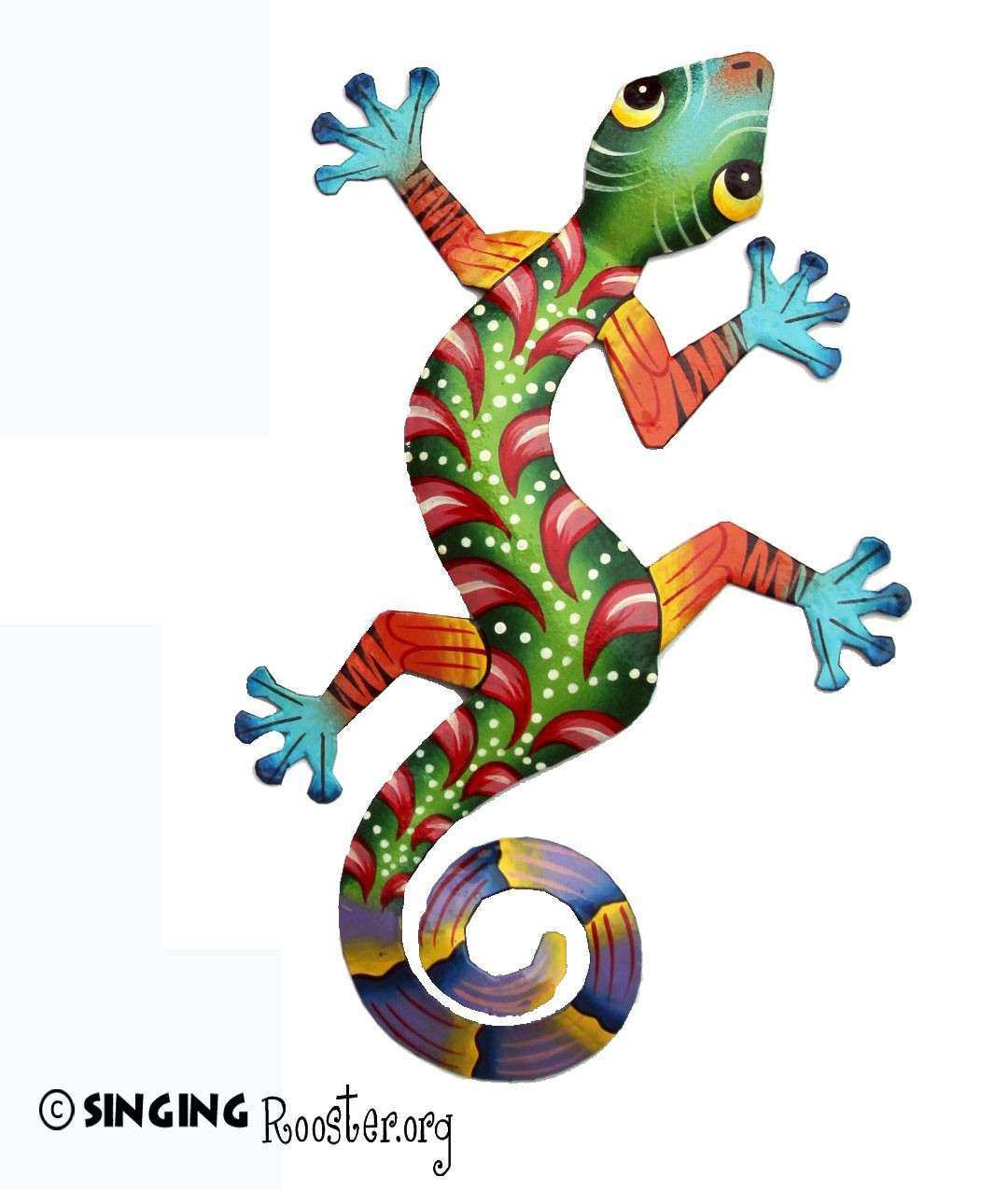 Colorful Wall Art New Lizard Ideas