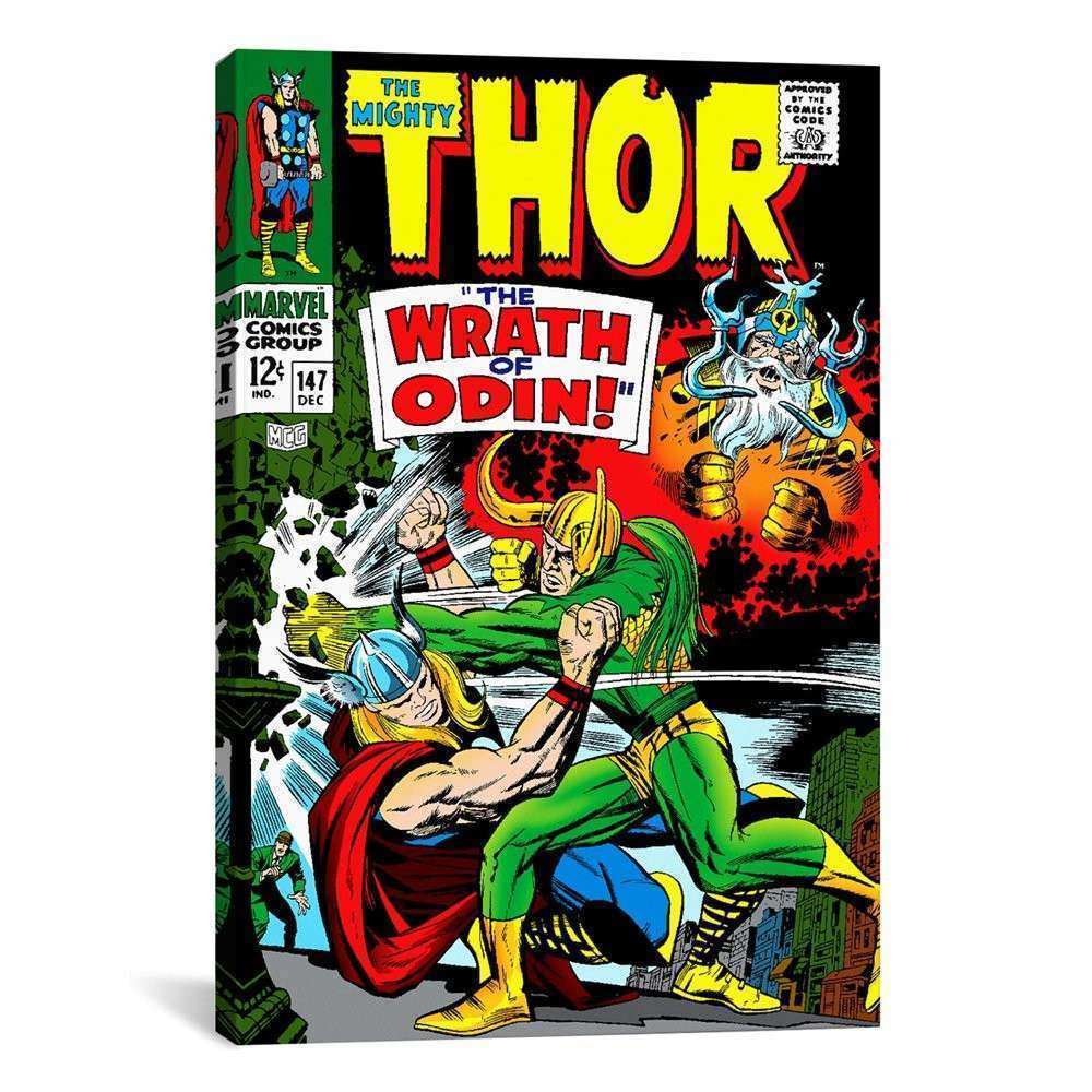 Comic Book Wall Art Best Of Icanvas Mrv68 Marvel Ic Book Thor Issue Cover  147