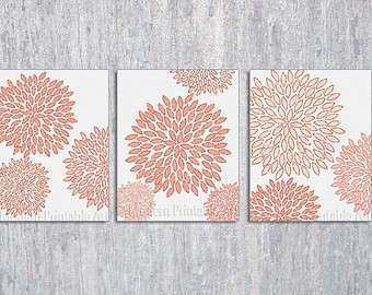 Coral Colored Wall Decor Luxury Handmade Coral Wall Art U2013 Etsy