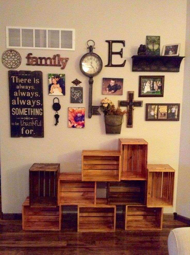 Wall Decor Ideas For Living Room Pinterest