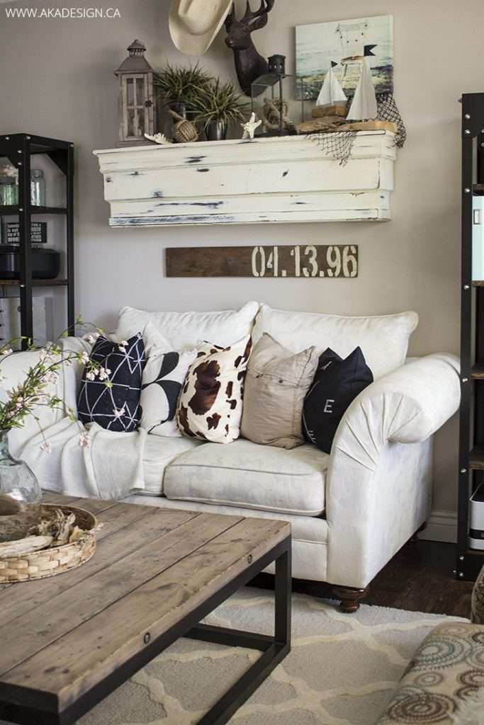 Decorating ideas for walls in living room best of 27 rustic farmhouse living room decor ideas for your home