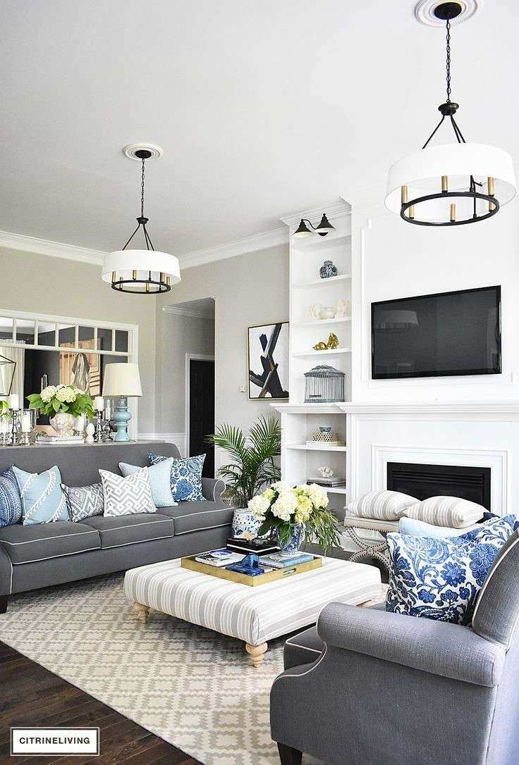 What Color Furniture Goes With Grey Walls Gray And White
