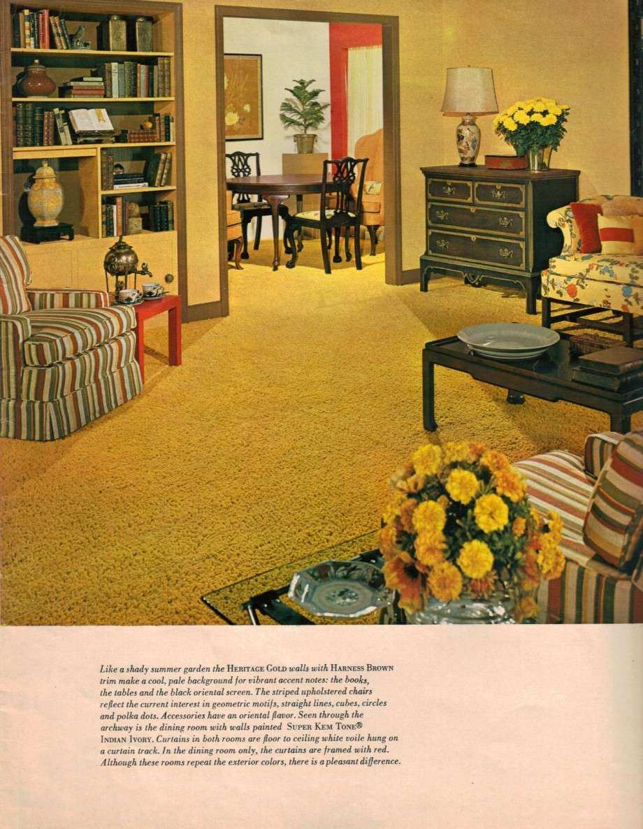 Decorating with Yellow Walls Living Room Fresh Hippie Decor & More ...