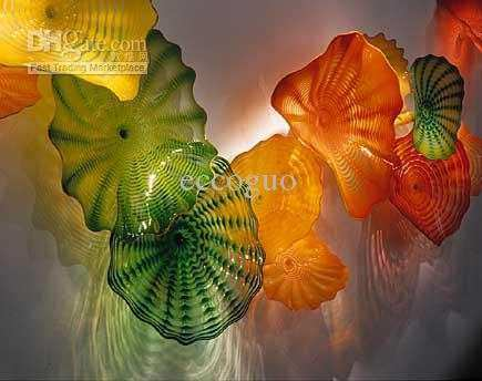 2017 Hand Blown Glass Ce Ul Certificate Chihuly