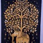 Decorative Hangers For Wall Art Beautiful Tree Of Life Indian Wall Hanging Tapestry Bedspread Throw Of Decorative Hangers For Wall Art