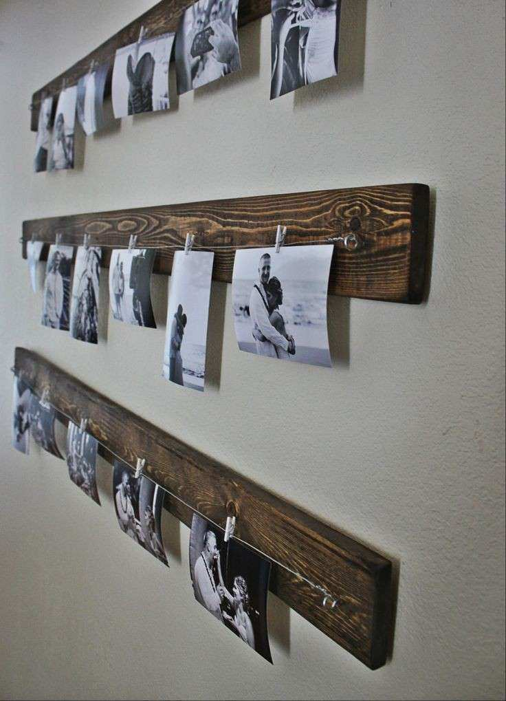Rustic Wall Picture Display – You Can Get The Line And