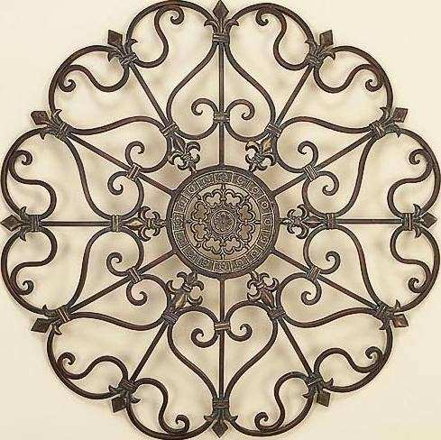 Outdoor You Can Find Outdoor Wrought Iron Wall Art In The