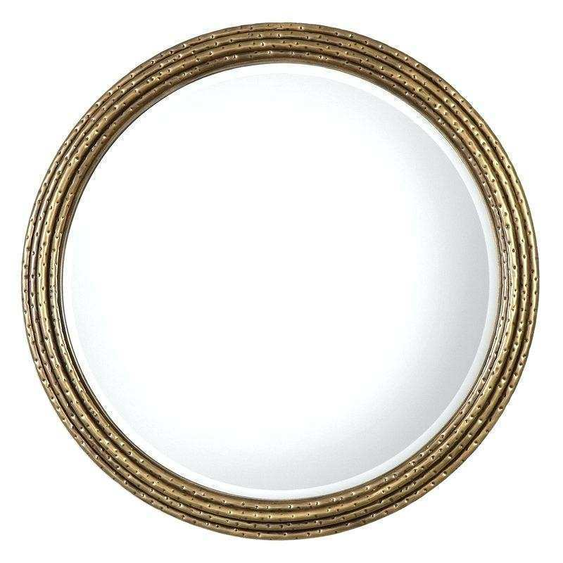 Round Wall Mirror Silver Round Mirrors For Walls Designs