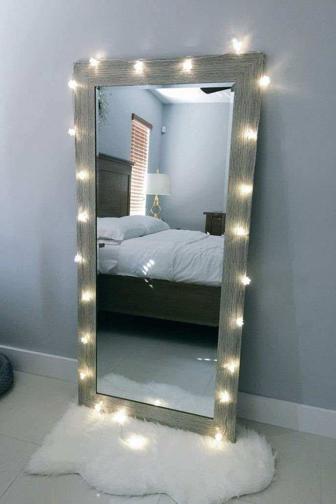 Decorative Wall Mirrors For Bedroom Framed Wall Mirror In