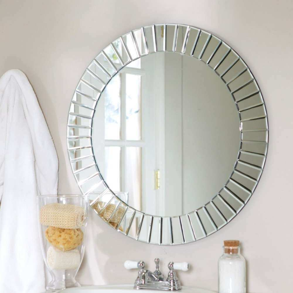 Decorative Wall Mirrors And Bedroom Interior