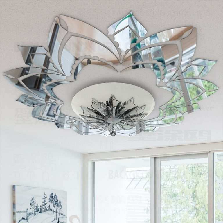 decorative wall mirrors horizontal decorative wall mirrors living room lovely ornate flower 3d acrylic mirror stickers