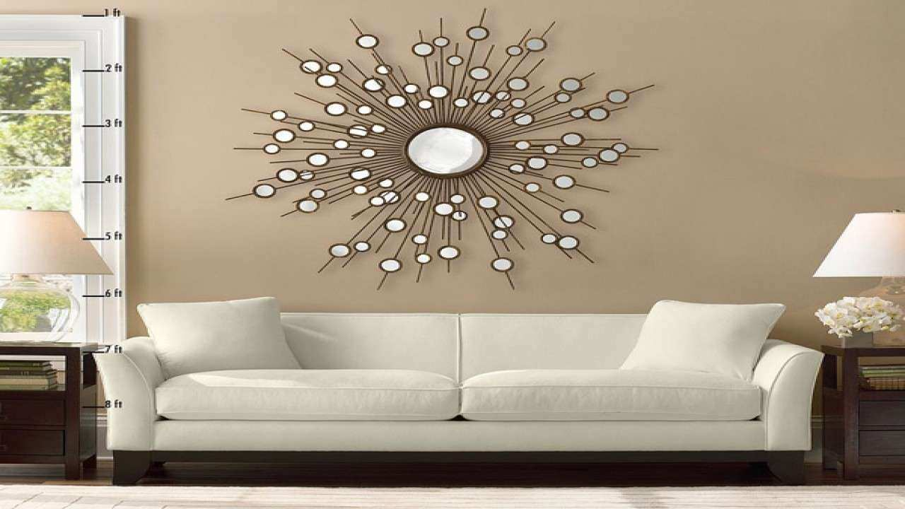 Inspirational Decorative Wall Mirrors Living Room | Wall Art Ideas