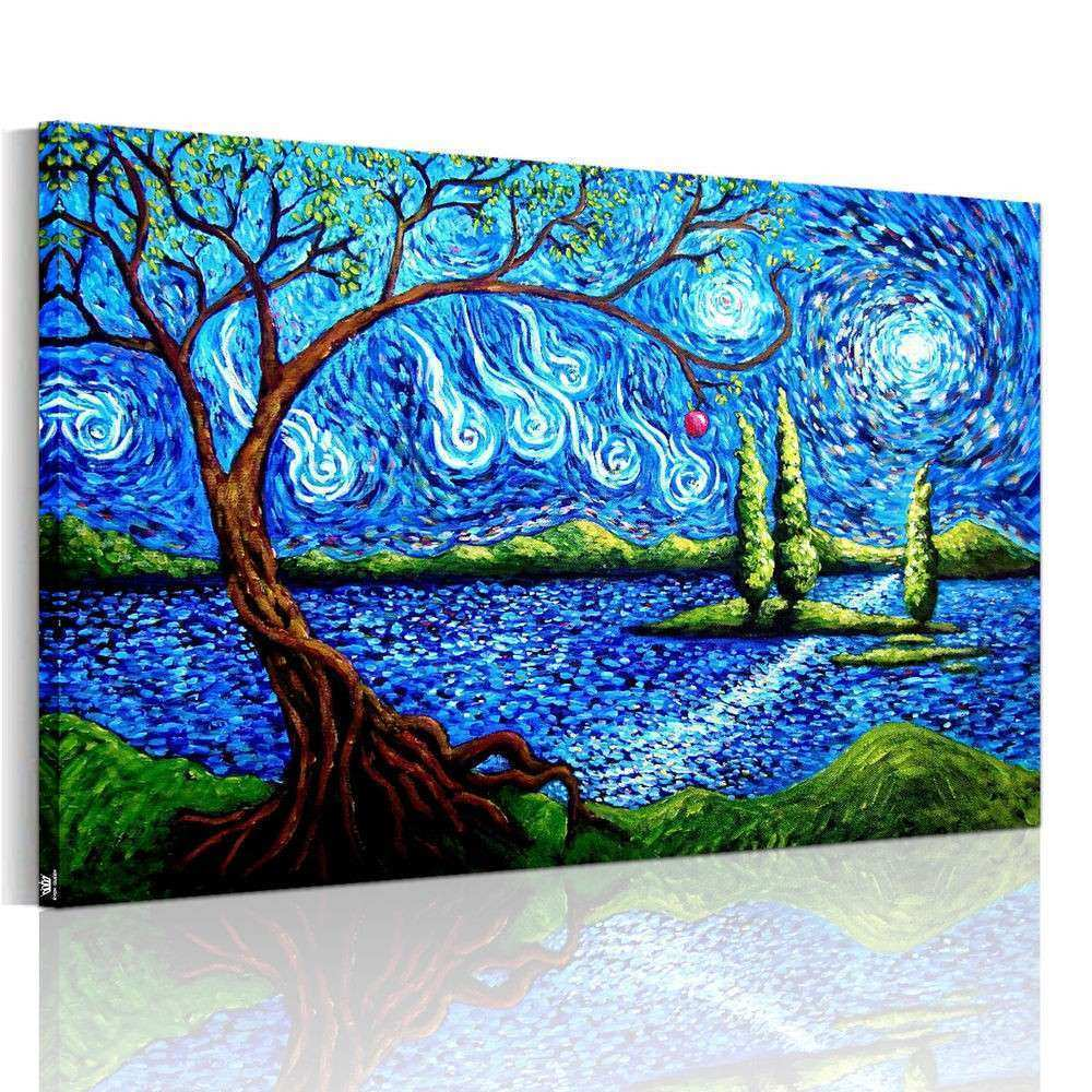 HD Canvas Prints Decor Wall Art Painting Picture Abstract