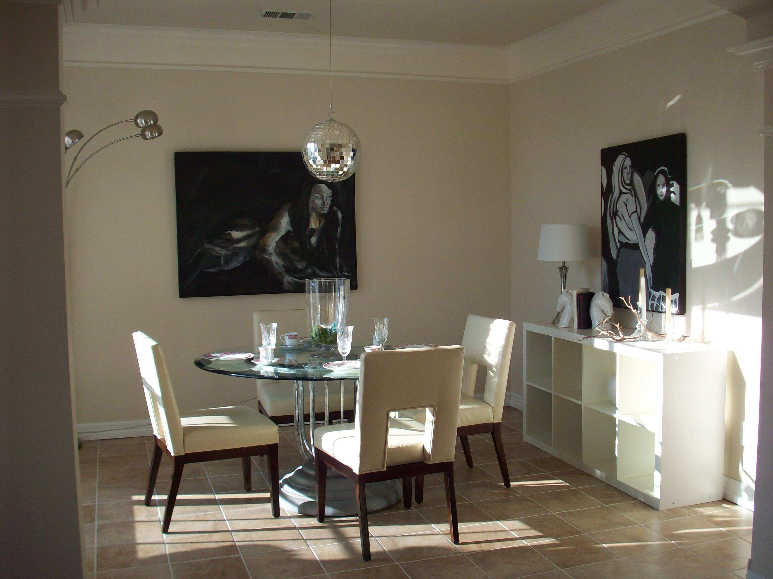 Gold Color pleted Modern Dining Room Wall Decor Ideas Sweet