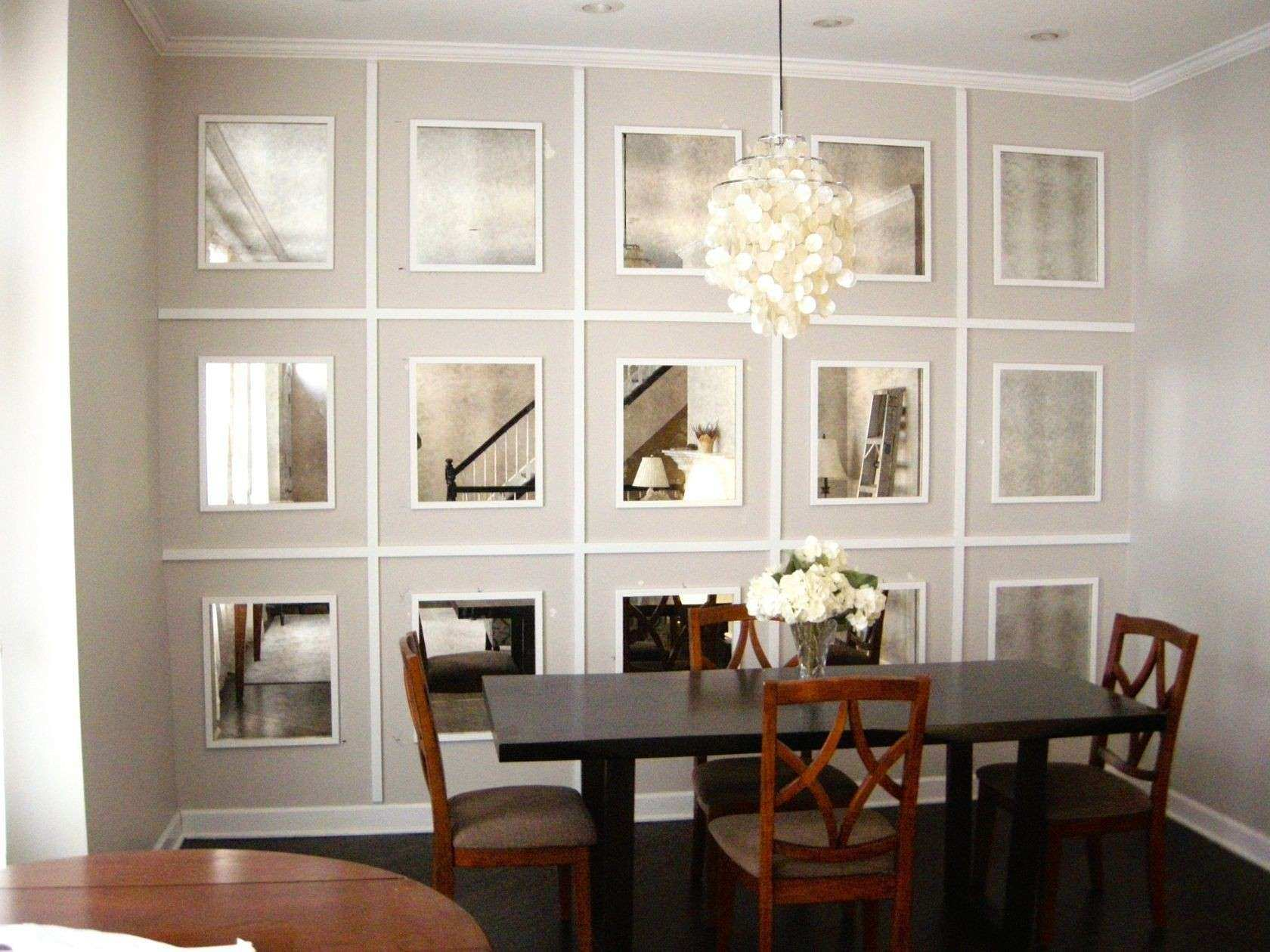 Dining Room Wall Decor with Mirror Beautiful Dining Room