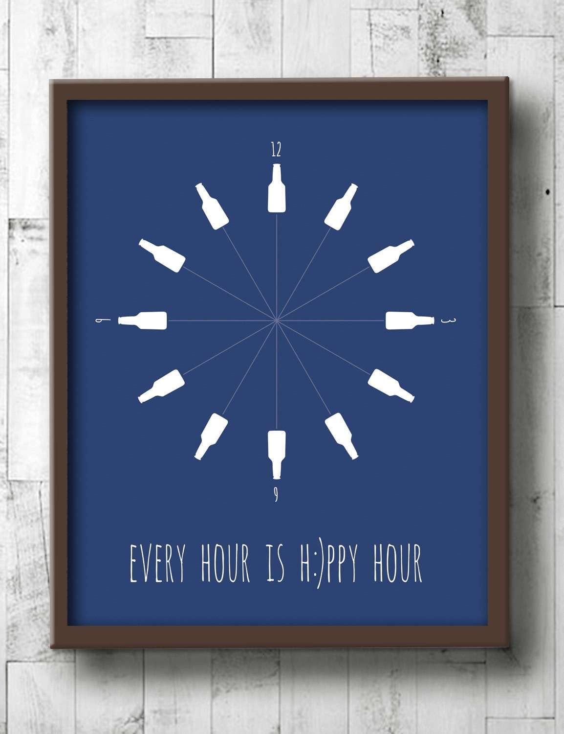 Beer Poster Beer Wall Art Dining Room Prints Every Hour