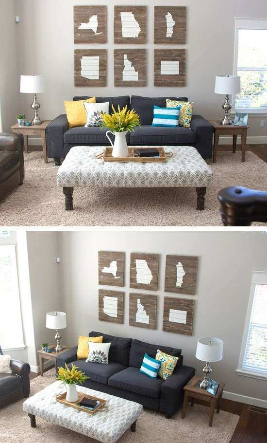 15 Diy Ideas To Refresh Your Living Room Diy & Crafts