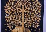 """Diy Tree Of Life Wall Art Awesome King Arthur Tapestry Wall Hanging 20""""x29"""" with Border In"""