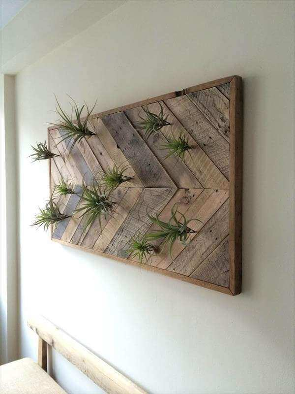 Diy Wall Decor with Pictures Unique Pallet Chevron Wall Art – Wall ...