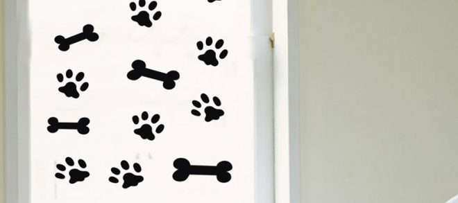 Dog Wall Art Inspirational Free Shipping Pet Dog Feet Animals Wall Stickers Home