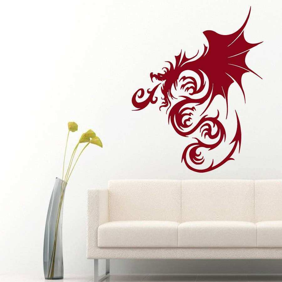 Dragon Wall Decor Fresh Wall Decals Chinese Dragon Home Vinyl Decal By