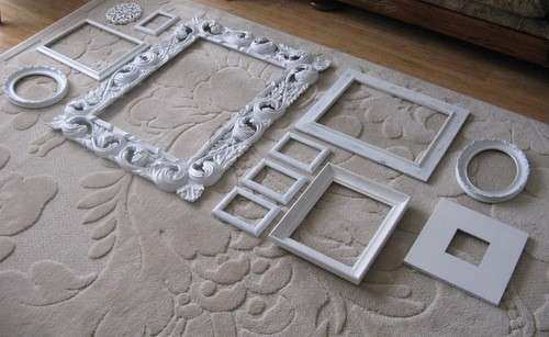 1000 images about Empty Frames DIY Wall Art on