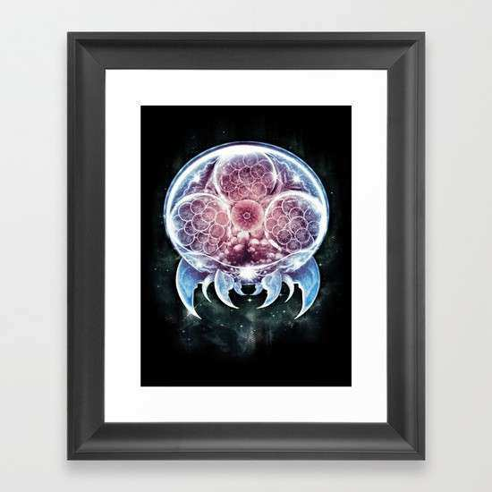 The Epic Metroid Framed Art Print by Barrett Biggers