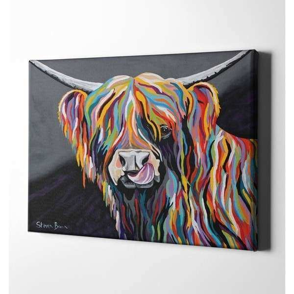 "Epic Graffiti ""Heather McCoo"" by Steven Brown Giclee"