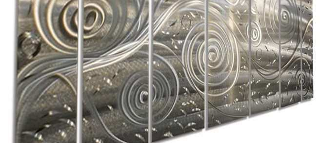 Extra Large Metal Wall Art Fresh Freedom Fills the Air Xl Extra Modern Abstract