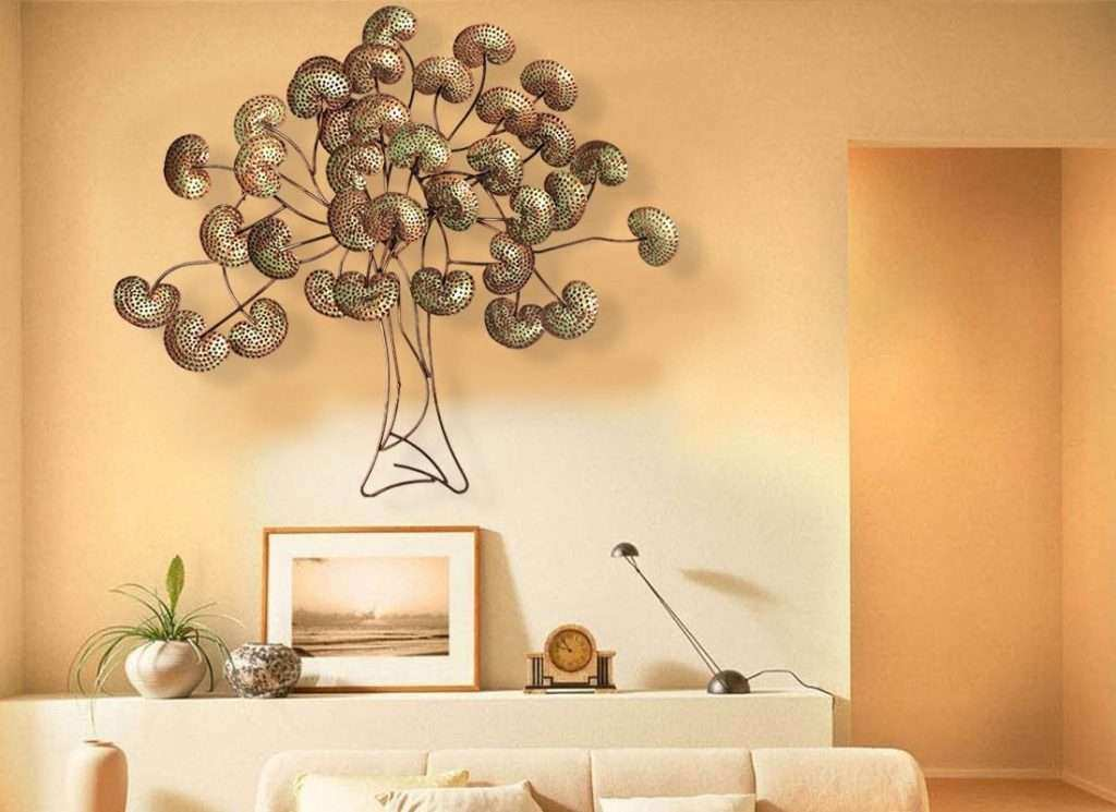 Extra Large Metal Wall Art Inspirational Impressive Metal Tree Wall ...