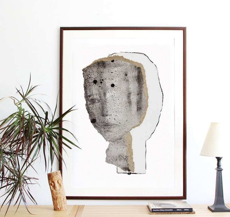Oversized Wall Art Extra Print Poster Size by BorianaM