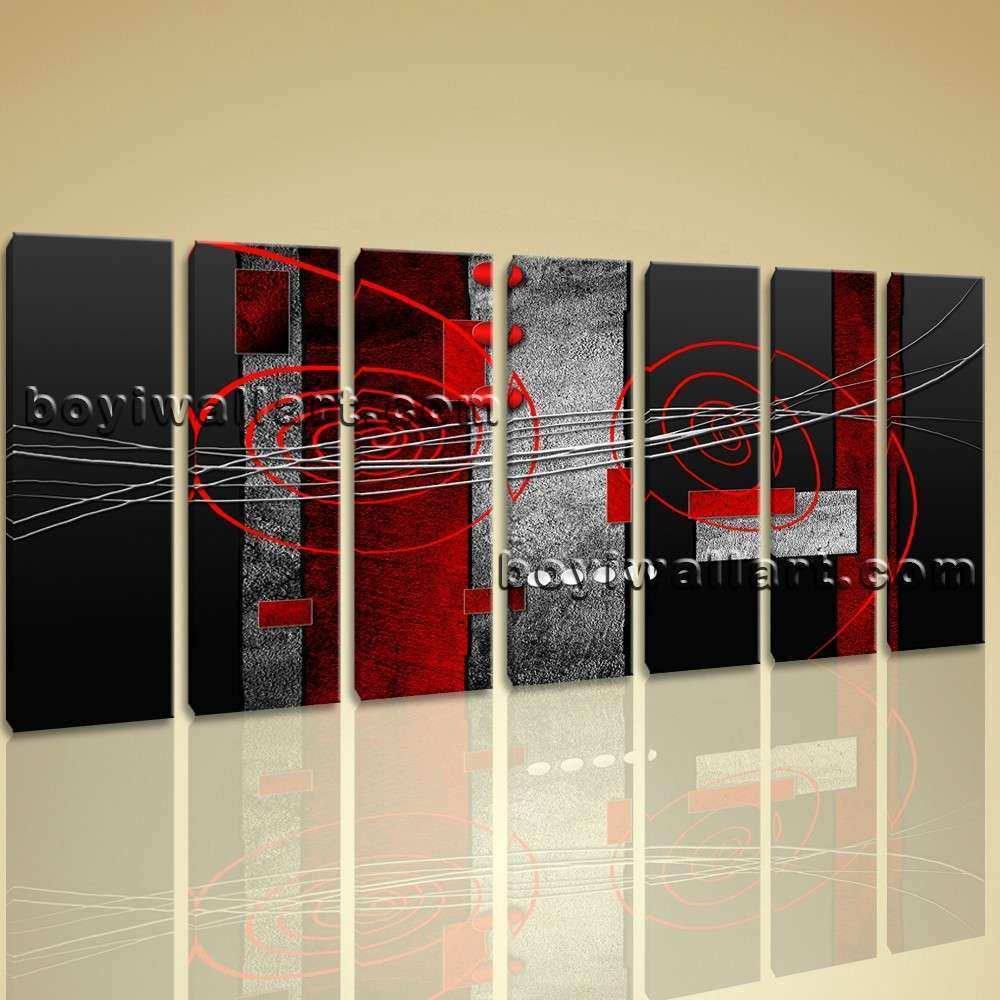 Extra Modern Abstract Painting Home Decor Wall Art