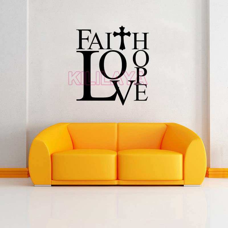 Faith Hope Love Wall Decor Lovely Christian Faith Love Hope Cross ...