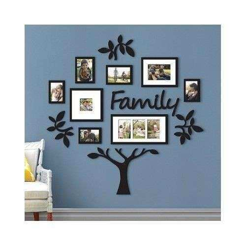 Family Tree Framed Wall Art Unique Family Tree Frame Collage Frames ...