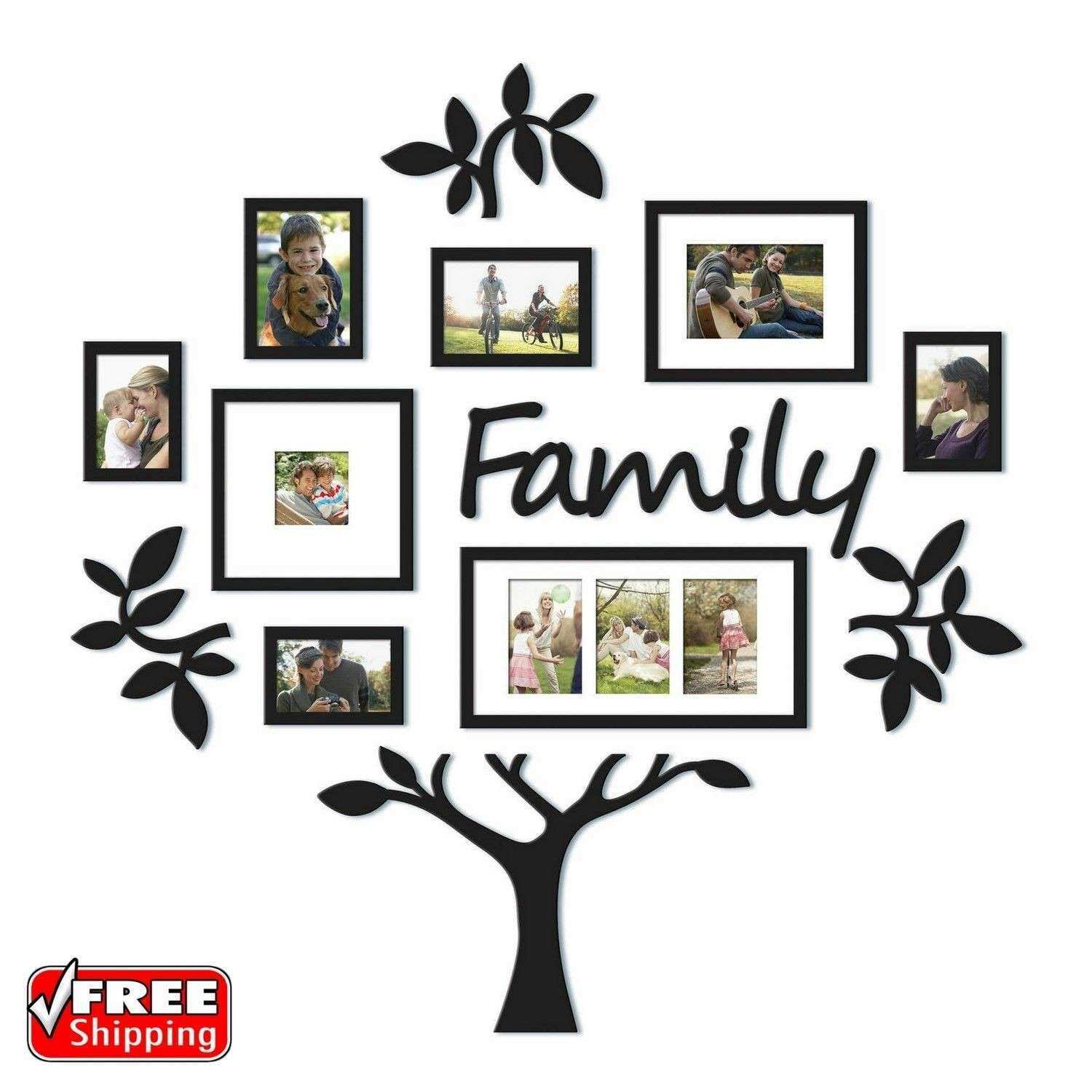 Family Tree Picture Frame Wall Beautiful Family Tree Frame 13pc ...