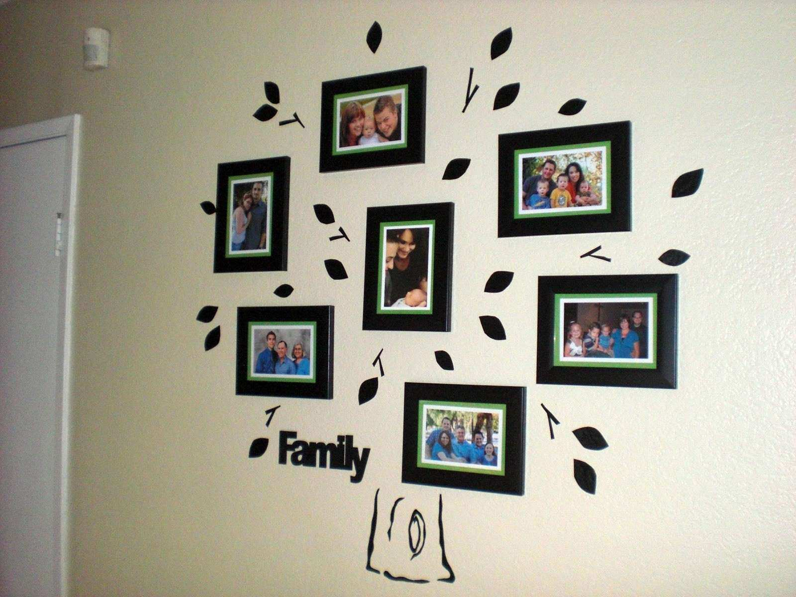 Family Tree Picture Frame Wall Unique Home Design Family Tree Wall ...