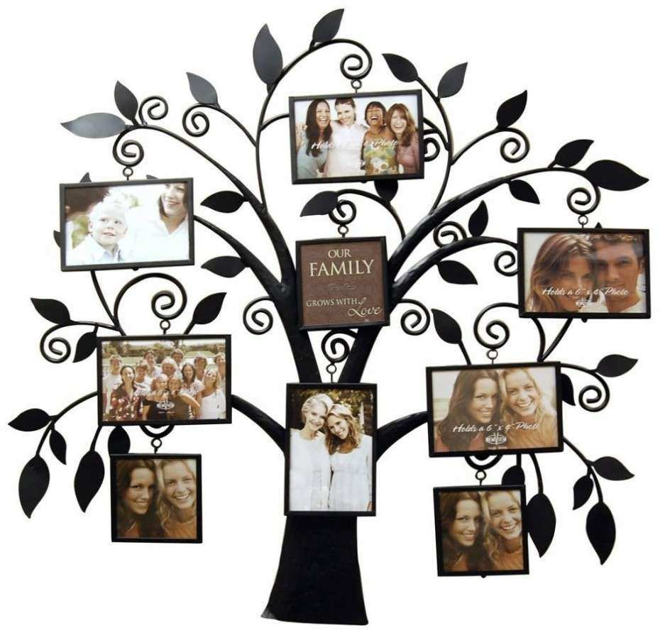Family Tree Wall Art Picture Frame Inspirational Love Quotes Family ...